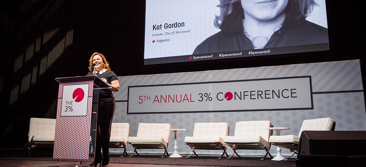 10 questions with Kat Gordon, 3% Movement founder | The