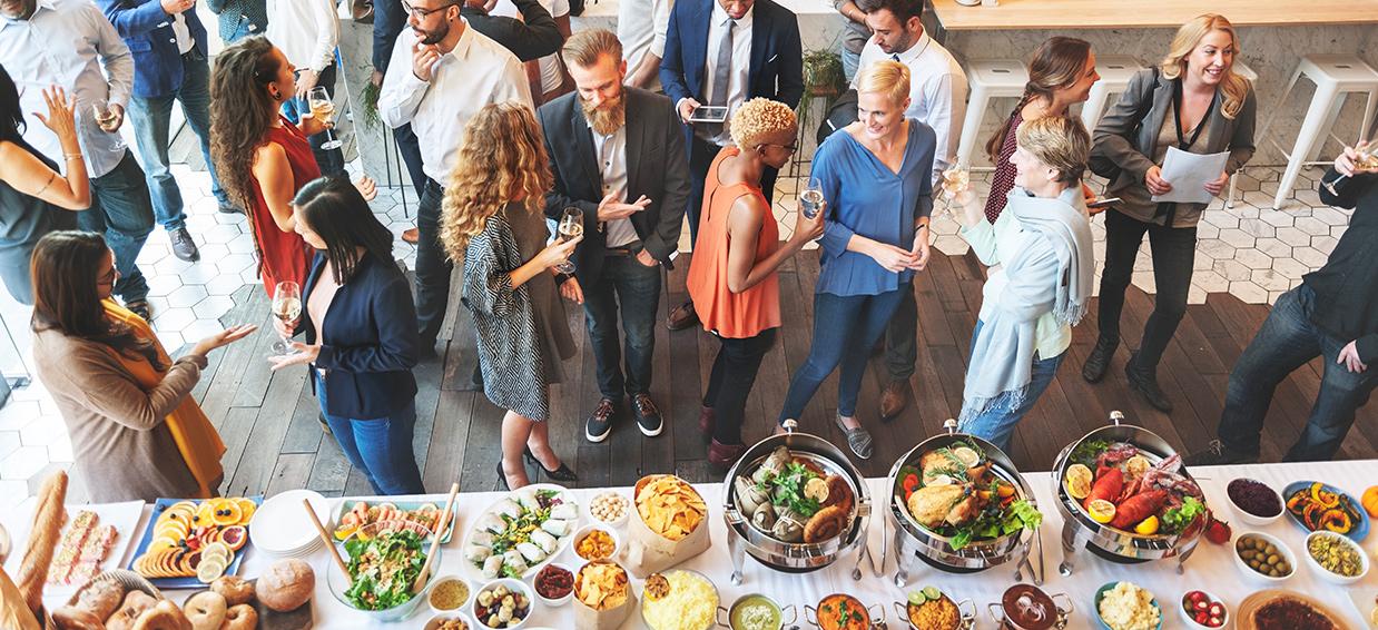event catering ideas menu
