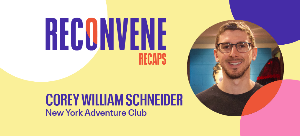 corey william schneider, ny adventure club, hybrid approach