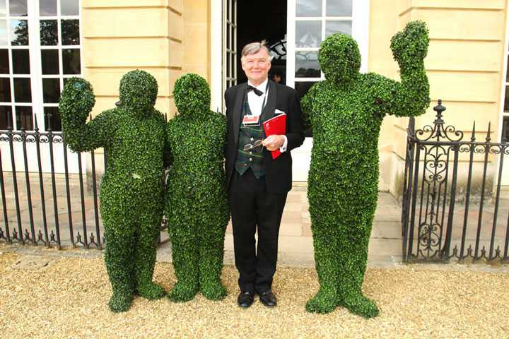 Event Entertainment ideas Living Topiary