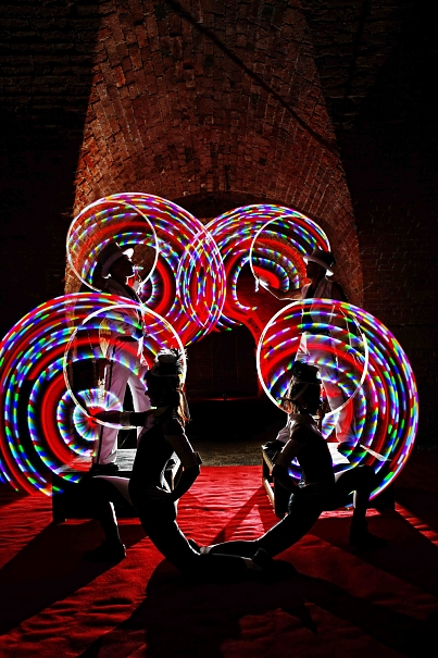Event Entertainment Ideas glow show