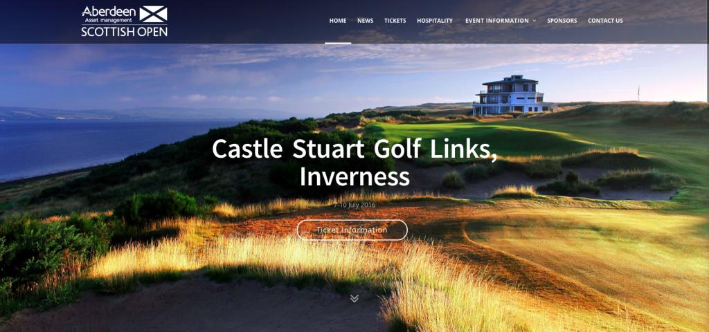 Scottish Tour event websites