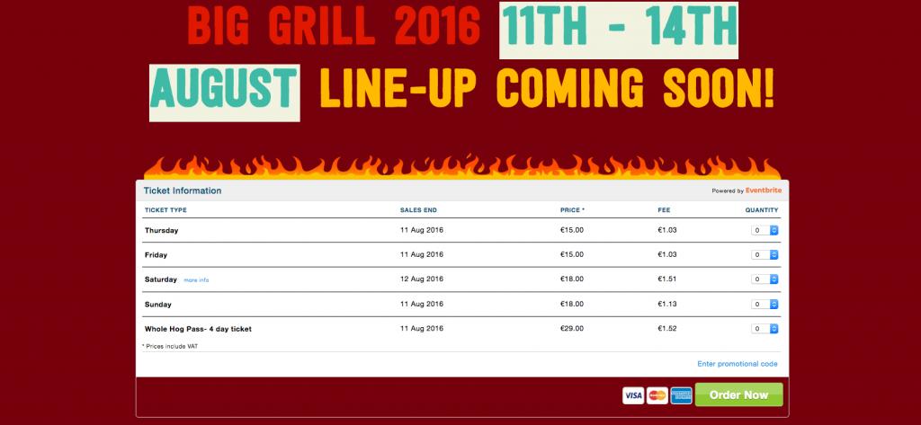 Big Grill Fest 1 event websites