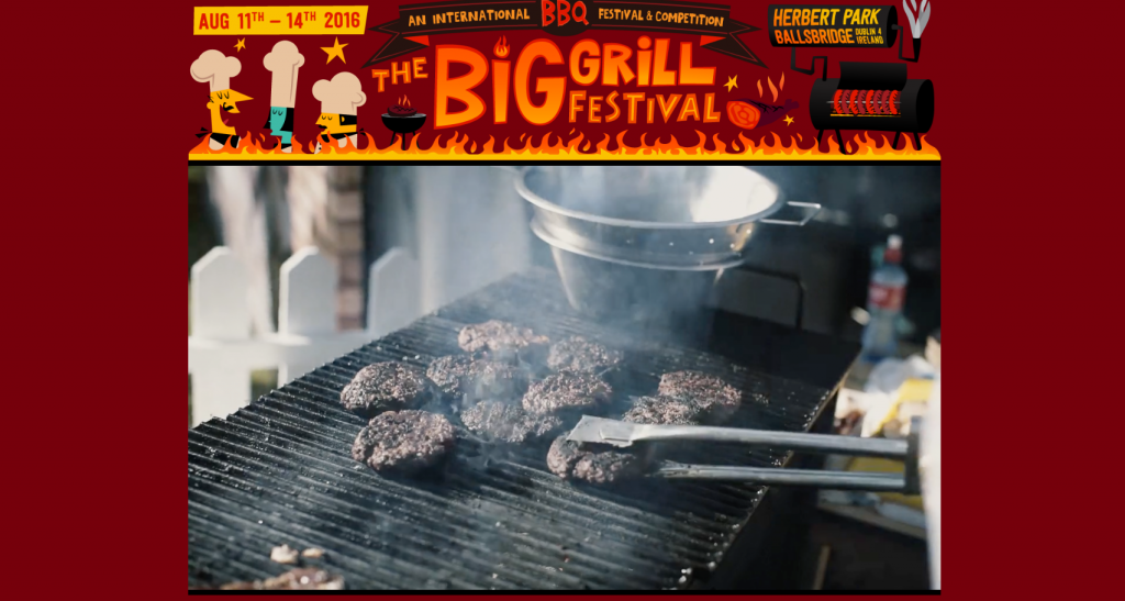 Big Grill Festival event websites