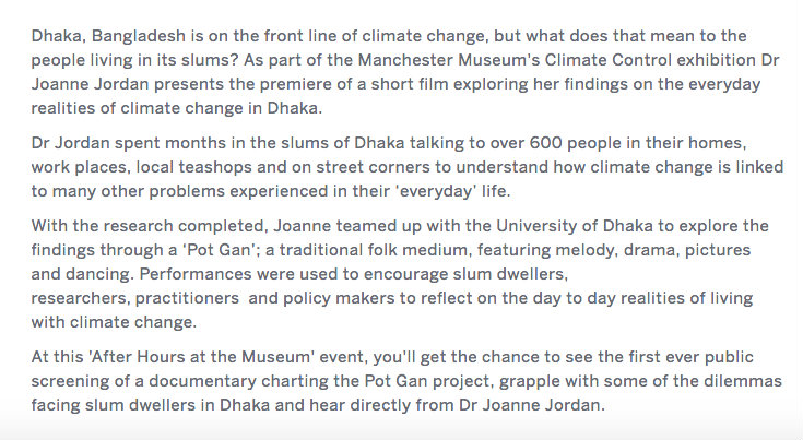 climate change in dhaka