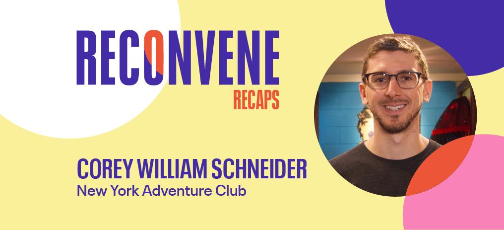 corey william schneider ny adventure club hybrid approach