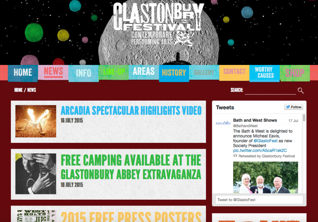 Glastonbury-blog