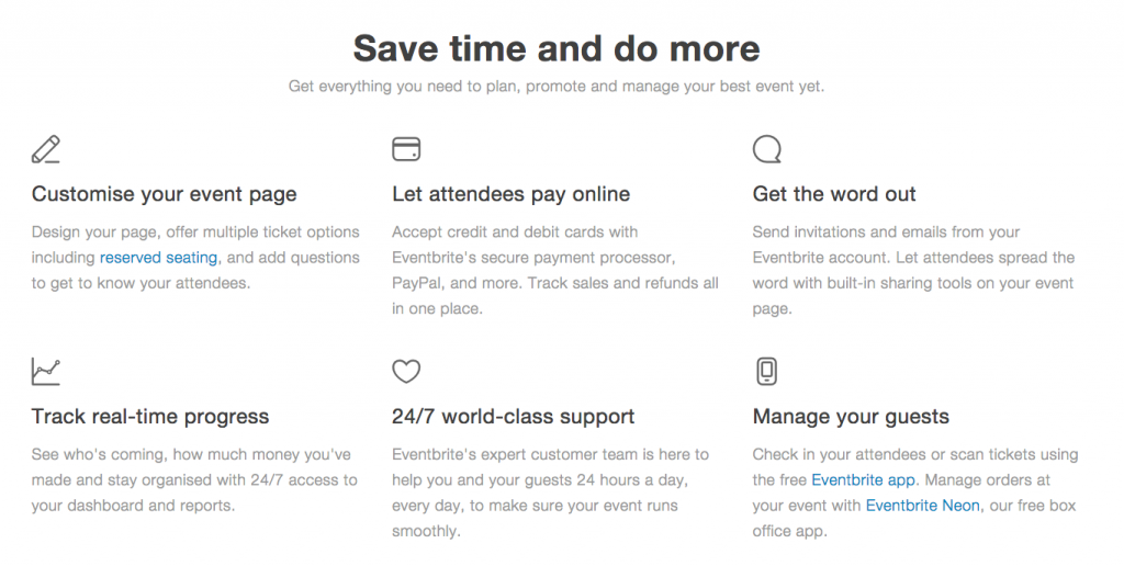 Eventbrite - Event Planning Productivity Tools