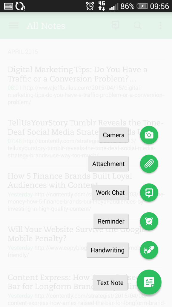 Evernote 2- Event Planning Productivity Tools