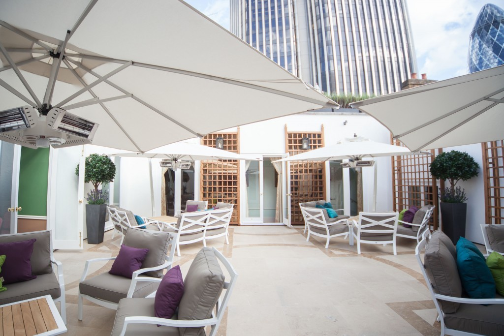 City of London Club Terrace