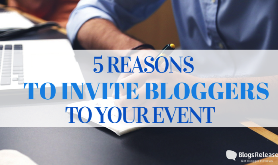 invite bloggers to your event