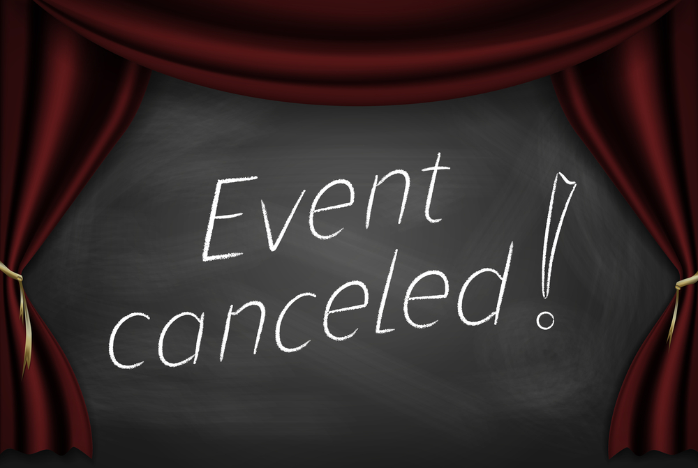 Image result for event cancelled