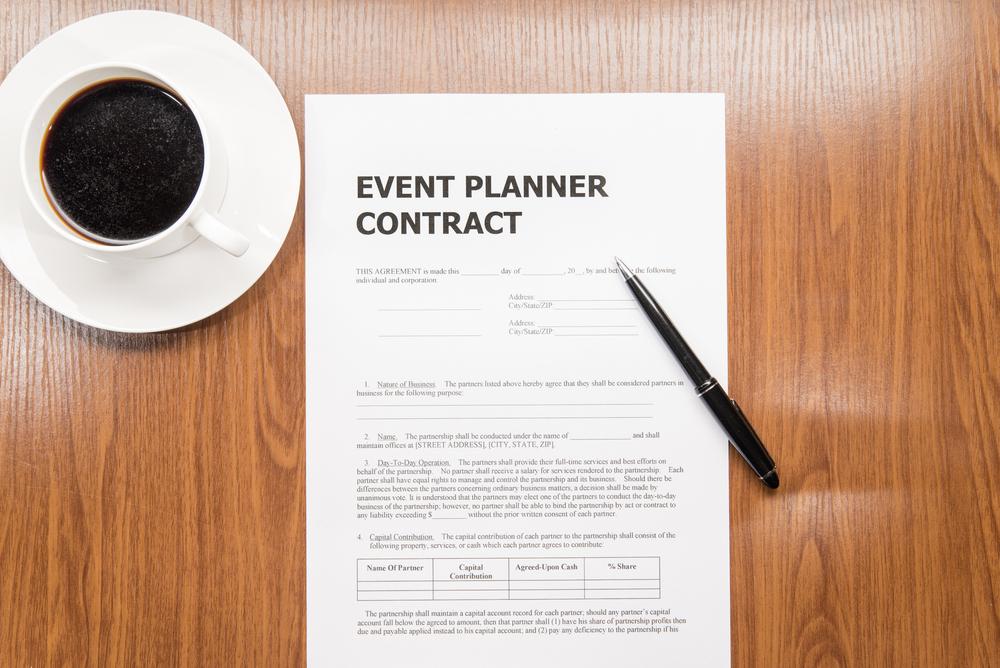 hiring an event planner